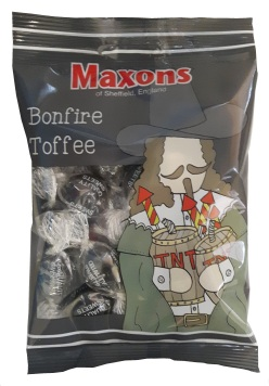 New Bonfire Toffee 120g Bag