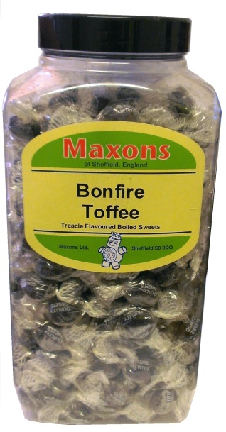 wrapped Bonfire Toffee Jar